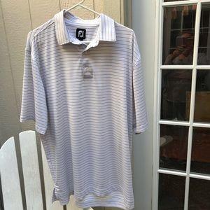 Foot Joy men's golf shirt size large in white